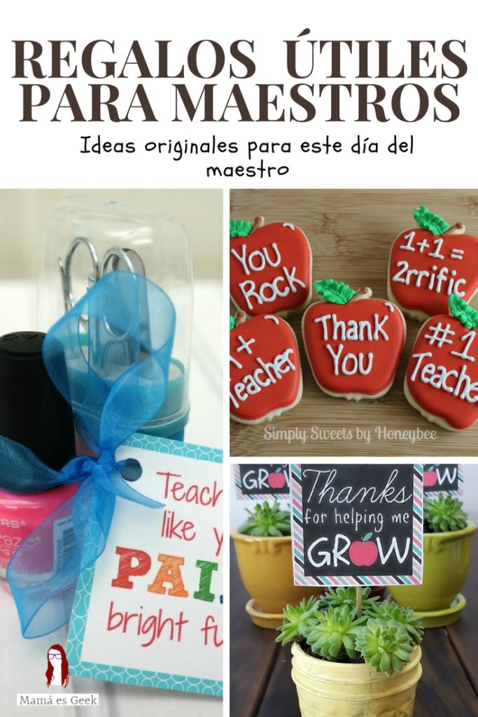 Regalos Originales Mama Primeriza.Ideas De Regalos Originales Para El Dia Del Maestro Mama